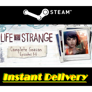 Life is Strange Complete Season - Steam Key - Region Free - Instant Delivery - RRP = $19.99