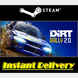 DiRT Rally 2.0 - Steam Key - Region Free - Instant Delivery