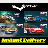 DiRT Rally 2.0 & 3x DLCs - Steam Keys - Region Free - Instant Delivery - RRP = $31.96