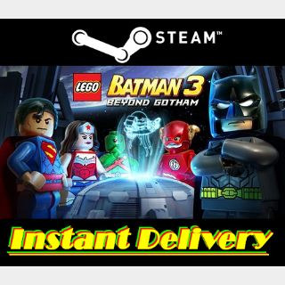 LEGO Batman 3: Beyond Gotham - Steam Key - Region Free - Instant Delivery
