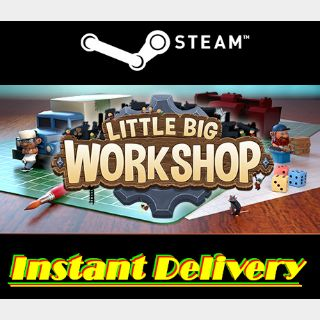 Little Big Workshop - Steam Key - Region Free - Instant Delivery - RRP = $19.99