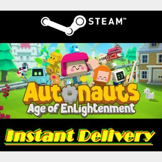 Autonauts - Steam Key - Region Free - Instant Delivery - RRP = $19.99
