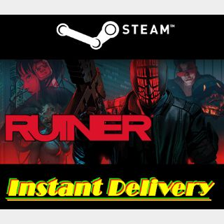 RUINER - Steam Key - Region Free - Instant Delivery - RRP = $19.99