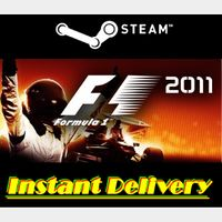 F1 2011 - Steam Key - Region Free - Instant Delivery - RRP = $14.99
