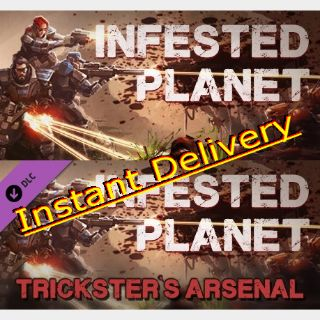 Infested Planet & DLC - Steam Keys - Region Free - Instant Delivery - RRP = $19.98