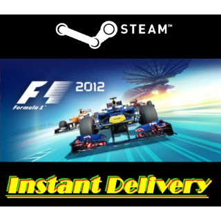 F1 2012 - Steam Key - Region Free - Instant Delivery - RRP = $19.99
