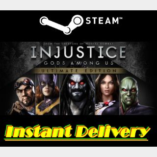 Injustice: Gods Among Us - Ultimate Edition - Steam Key - Instant Delivery