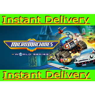 Micro Machines World Series - Steam Key - Region Free - Instant Delivery - RRP = $29.99