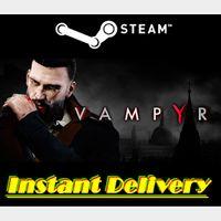 Vampyr - Steam Key - Region Free - Instant Delivery - RRP = $39.99