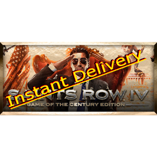 Saints Row: IV Game of the Century - Full Game - EU Steam Key - Instant Delivery - RRP = $19.99