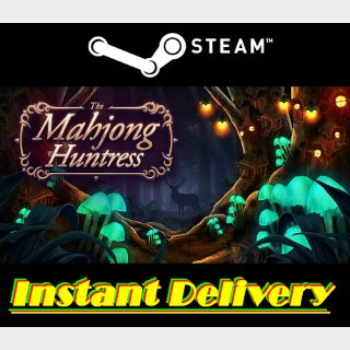 The Mahjong Huntress - Steam Key - Region Free - Instant Delivery - RRP = $4.99