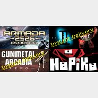 Steam Games Bundle - 4x Region free Steam Keys