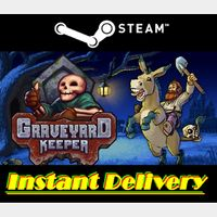 Graveyard Keeper - Steam Key - Region Free - Instant Delivery - RRP = $19.99