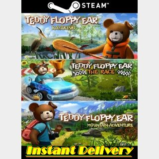 Teddy Floppy Ear Bundle - Steam Keys - Region Free - Instant Delivery - RRP = $10.99