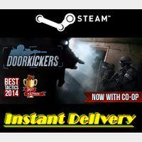 Door Kickers - Steam Key - Region Free - Instant Delivery - RRP = $19.99