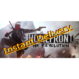 Homefront: The Revolution - Full Game - EU Steam Key - Instant Delivery - RRP = $29.99