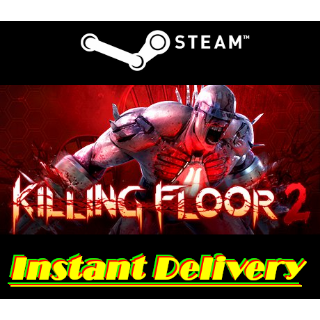 Killing Floor 2 - Full Game - PC Steam Game - Region Free - Instant Delivery - RRP = $29.99