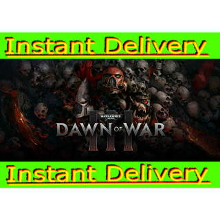 Warhammer 40,000: Dawn of War III - Steam Key - Region Free - Instant Delivery - RRP = $39.99