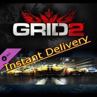 Grid 2 & GRID 2 - All in Pack - Region Free Steam Keys - Delivered Instantly - RRP=$64.98