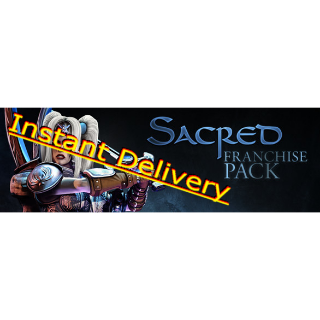 Sacred Franchise Pack - Full Game - EU Steam Key - Instant Delivery - RRP = $48.36