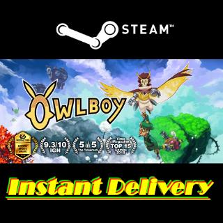 Owlboy - Steam Key - Region Free - Instant Delivery - RRP = $24.99