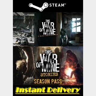 This War of Mine & Stories - Season Pass - Steam Keys - Region Free - Instant Delivery