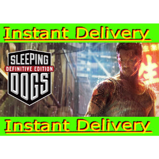 Sleeping Dogs: Definitive Edition - Steam Key Gift Link - Instant Delivery - RRP = $29.99