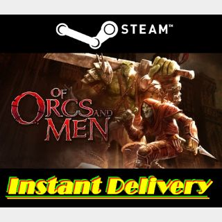 Of Orcs and Men - Steam Key - Region Free - Instant Delivery - RRP = $14.99