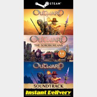 Outward & The Soroboreans DLC & The Soundtrack - Steam Key - Instant Delivery