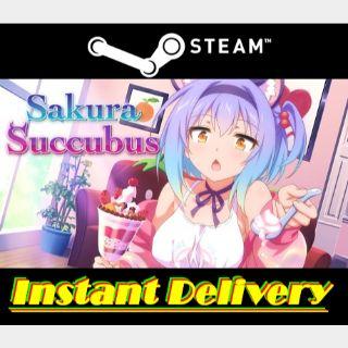 Sakura Succubus - Steam Key - Region Free - Instant Delivery