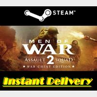 Men of War: Assault Squad 2 - War Chest Edition - Steam Key - Region Free - Instant Delivery - RRP = $43.83