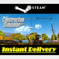 Construction Simulator 2015 - Steam Key - Region Free - Instant Delivery - RRP = $14.99