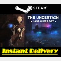 The Uncertain: Last Quiet Day - Steam Key - Region Free - Instant Delivery - RRP = $14.99