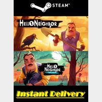 Hello Neighbor Bundle - Steam Keys - Region Free - Instant Delivery - RRP = $59.98