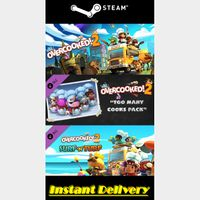 Overcooked! 2 & 2 DLCs - Steam Keys - Region Free - Instant Delivery - RRP = $33.97
