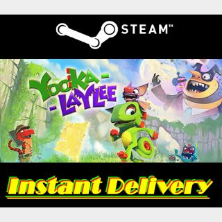 Yooka-Laylee - Steam Key - Region Free - Instant Delivery - RRP = $39.99