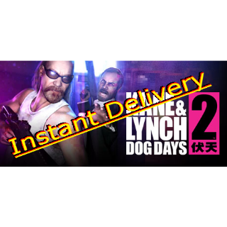 Kane & Lynch 2 Dogs Days - Steam Key - Region Free - Instant Delivery - RRP = $9.99
