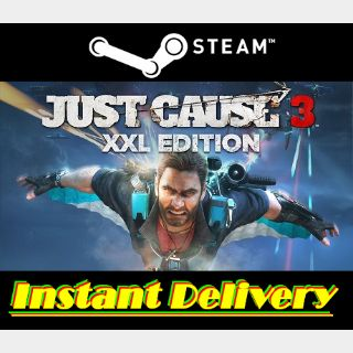 Just Cause 3 XXL Edition - Steam Key - Region Free - Instant Delivery