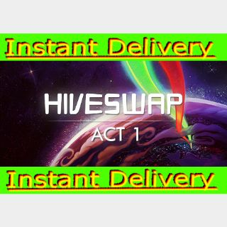 HIVESWAP: Act 1 - Steam Key - Region Free - Instant Delivery - RRP = $7.99