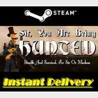 Sir, You Are Being Hunted - Steam Key - Region Free - Instant Delivery - RRP = $19.99