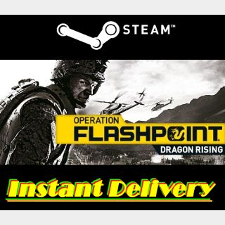 Operation Flashpoint: Dragon Rising - Steam Key - Region Free - Instant Delivery