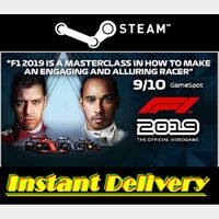 F1 2019 - Steam Key - Region Free - Instant Delivery - RRP = $39.99