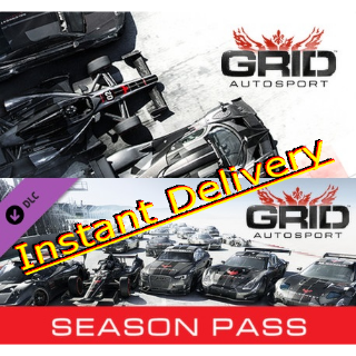 GRID Autosport & Season Pass - Steam Keys - Region Free - Instant Delivery - RRP = $69.98