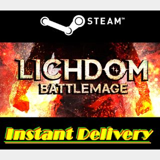 Lichdom: Battlemage - Steam Key - Region Free - Instant Delivery - RRP = $9.99