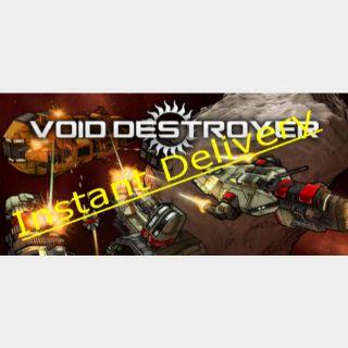 Void Destroyer - Region Free Steam Key - Delivered Instantly - RRP=$12.99