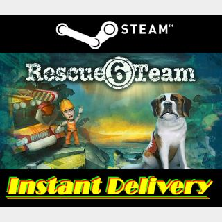 Rescue Team 6 - Steam Key - Region Free - Instant Delivery - RRP = $6.99