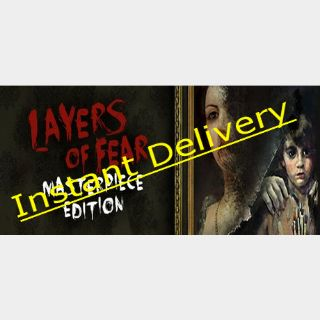 Layers of Fear: Masterpiece Edition - Steam Key - Region Free - Instant Delivery - RRP = $22.99