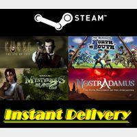4x Game Bundle - Steam Keys - Region Free - Instant Delivery
