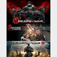 Gears Of War Ultimate Edition, 2 & 3 - Xbox One - Download Codes