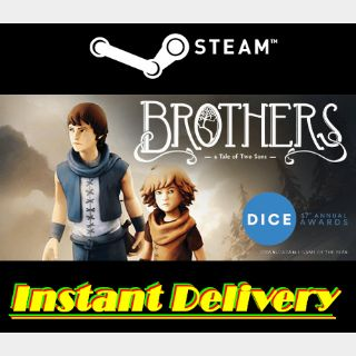 Brothers: A Tale of Two Sons - Steam Key - Region Free - Instant Delivery